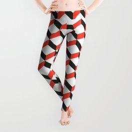 Geometric 3D Pattern Leggings