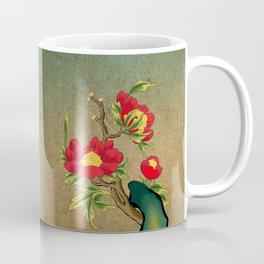 Minhwa: Peony on the Rock E Type Coffee Mug