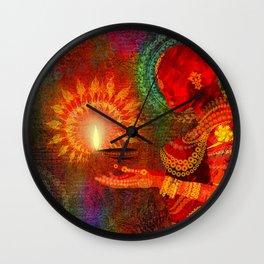 Festival of Lights Wall Clock