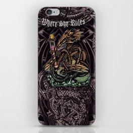 Dragon Runes iPhone Skin