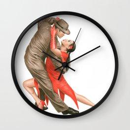 Tango Wall Clock