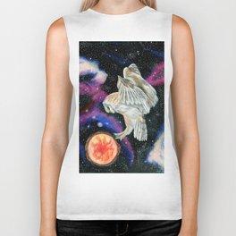 Cosmic Owl 3 Biker Tank