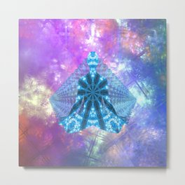 Parallel Existence Metal Print