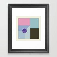 Carré Framed Art Print