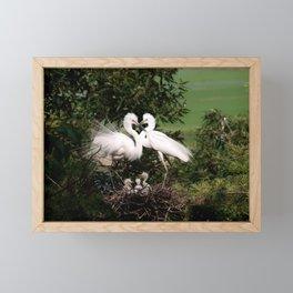 The Couple Framed Mini Art Print