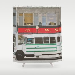 February One  Shower Curtain
