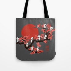Traditinal Kodamas Tote Bag