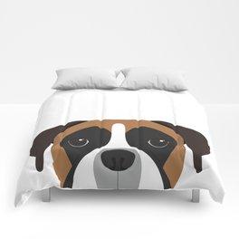 Boxer Portrait Comforters