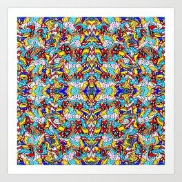 PATTERN-497 Art Print