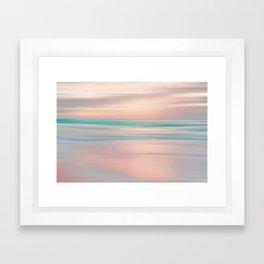 SUNRISE TONES Framed Art Print