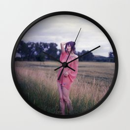 Big Girls Cry Wall Clock