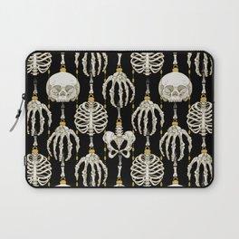 Skeleton Baubles Pattern Laptop Sleeve