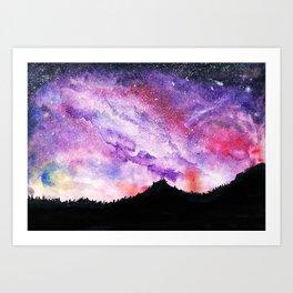 All of the Stars Not Seen  Art Print