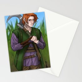 Leif the Harvester Stationery Cards