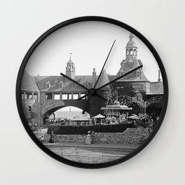 1890 Narragansett Towers & Casino, Narragansett, Rhode Island Wall Clock