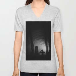 Where spirits wander Unisex V-Neck