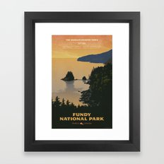 Fundy National Park Framed Art Print