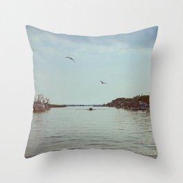 A peaceful lagoon #3 Throw Pillow