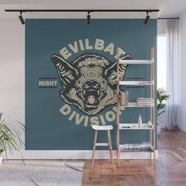 Evil Bat Division Wall Mural