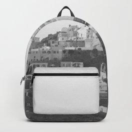 Santorini Island Backpack