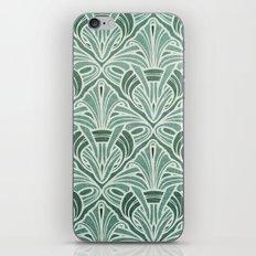 Art Nouveau Grunge Pattern iPhone & iPod Skin