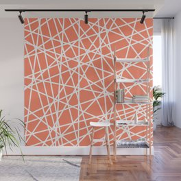 Lazer Dance Coral Wall Mural