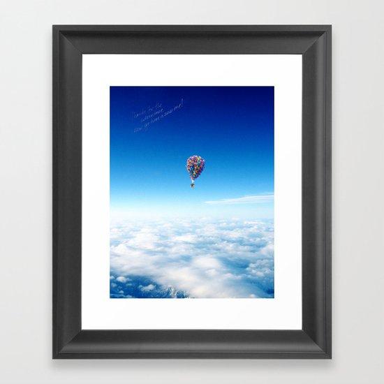 Glamorous Sky Framed Art Print