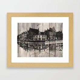 In Bruges, Belgium Framed Art Print