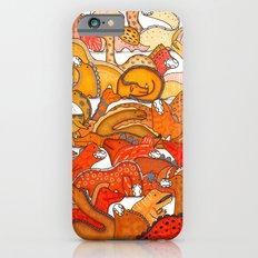 Orange Dinosaur Gradient iPhone 6s Slim Case