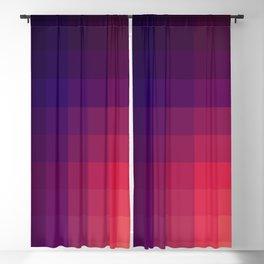 Pink Color Gradint Pattern Valravn Blackout Curtain