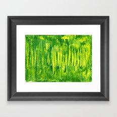 grass land Framed Art Print