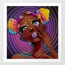 The Spiral Art Print