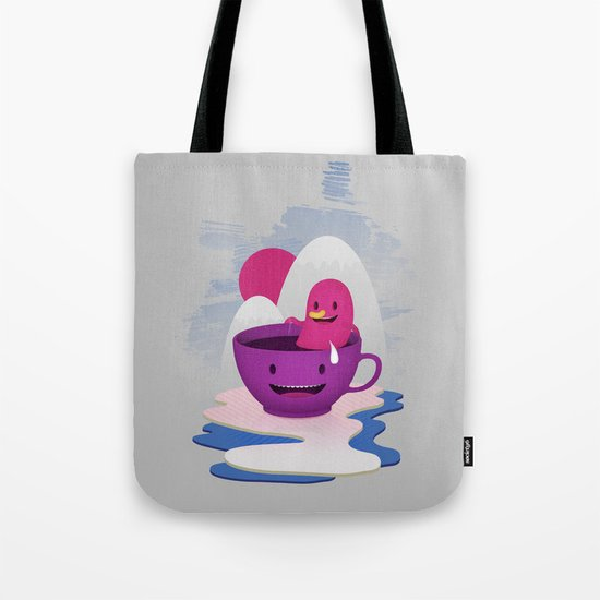 Reflections In Coffee Tote Bag