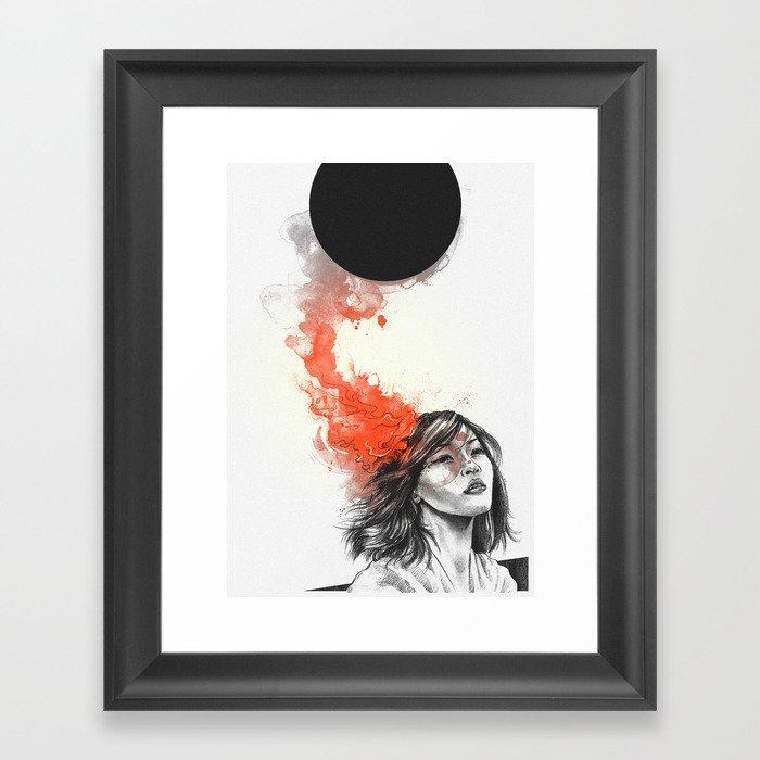 Those Sacrifices Framed Art Print