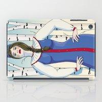 russian iPad Cases featuring Russian beauty by Galina Khabarova