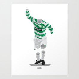 Celtic 2006/07  Art Print