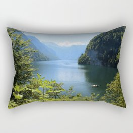 Germany, Malerblick, Koenigssee Lake II Rectangular Pillow