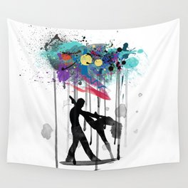 rain again  Wall Tapestry