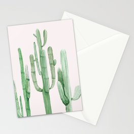 Three Amigos Pink + Green Stationery Cards
