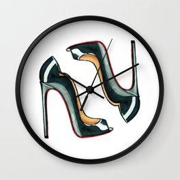 Beautiful high heels Wall Clock