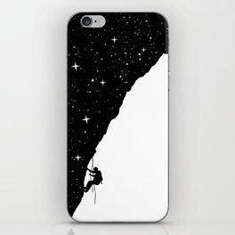 night climbing iPhone Skin