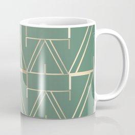 Deco Gold & Turquoise Coffee Mug