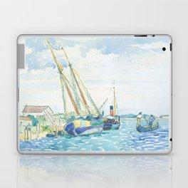 Marine Scene (Boats near Venice) by Henri-Edmond Cross1903, French Laptop & iPad Skin