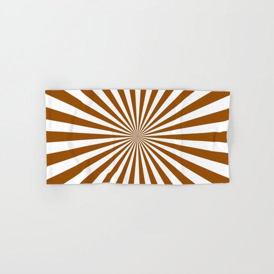 Starburst (Brown/White) Hand & Bath Towel