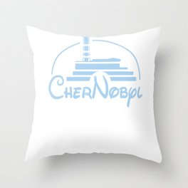 Chernobyl Black Humor Satire funny gift Throw Pillow