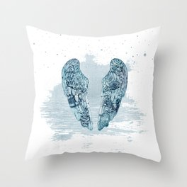 cold play Throw Pillow