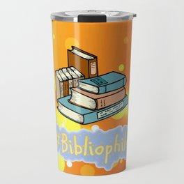 Books #Bibliophile Travel Mug