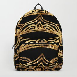 Gold Lace on Marble Backpack