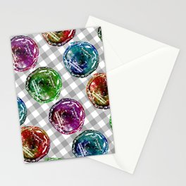 Old can pattern  Stationery Cards