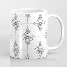 Art deco'ish fractal flower ornament Coffee Mug